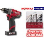 Milwaukee M12 CDD-602X + 2x 6,0 Ah,