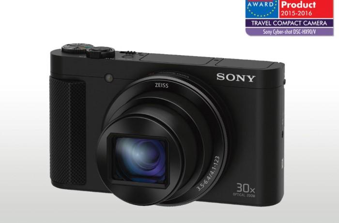 SONY DSC-HX90V Cyber-Shot 18,2 MPix, 30x zoom – černý DSCHX90VB.CE3