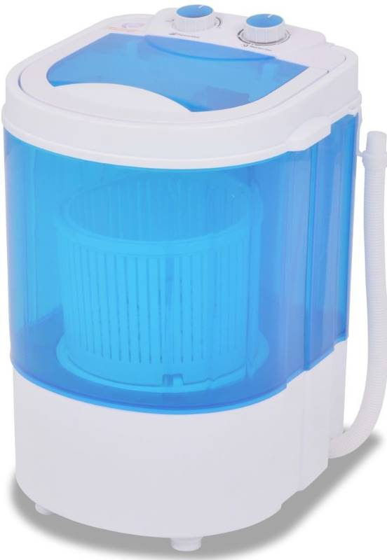 zahradaXL Mini pračka, jeden buben, 2,6 kg