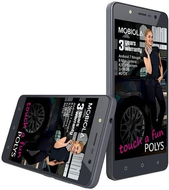 Mobiola Polys 1GB/16GB Dual SIM