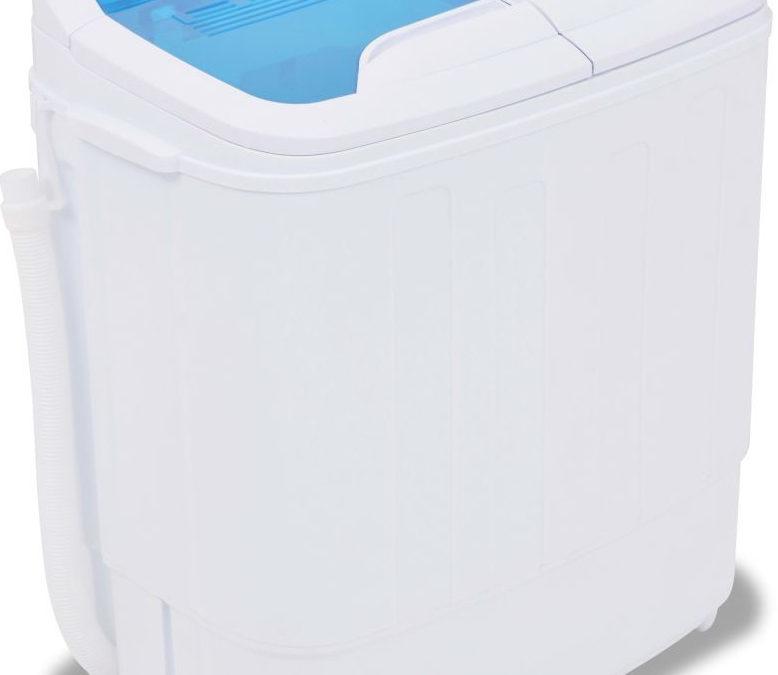 vidaXL Mini pračka dva bubny, 5,6 kg