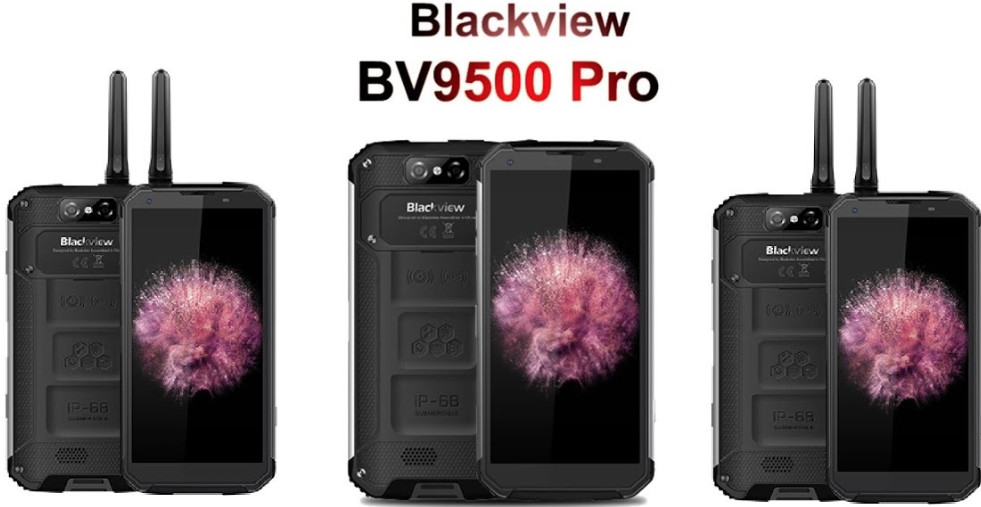 Blackview BV9500 PRO 6GB/128GB návod, fotka