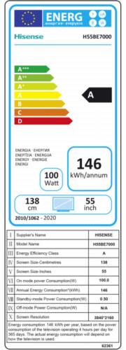 Hisense H55BE7000
