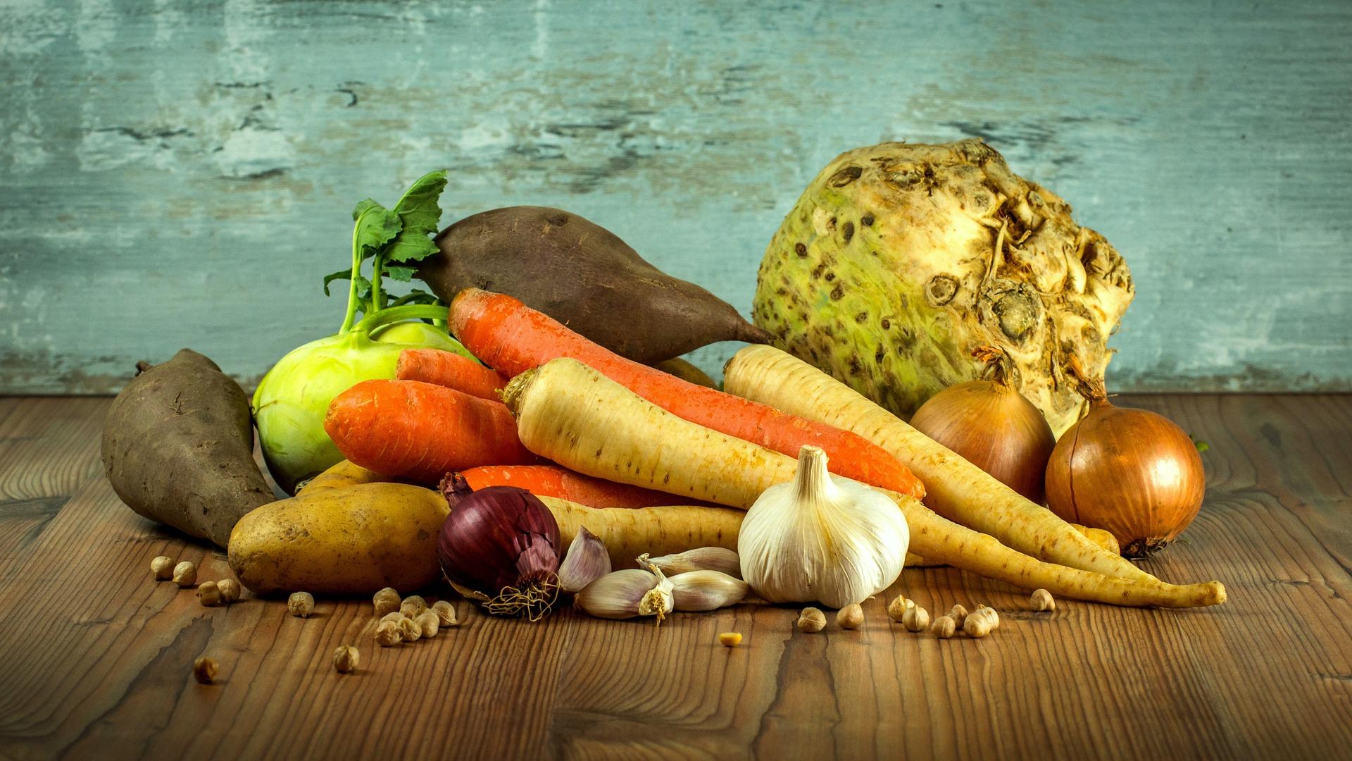 Jak naložit s přebytky zeleniny