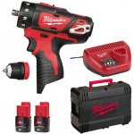 Milwaukee M12 BDDX-202X + 2×2,0Ah
