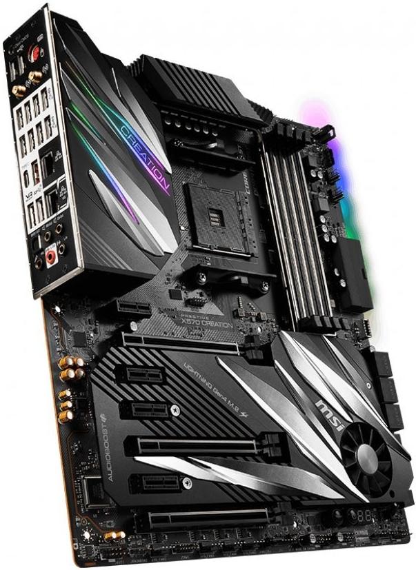 MSI PRESTIGE X570 CREATION / X570 / AM4 / 4x DDR4 DIMM / 2x M.2 / EATX PRESTIGE X570 CREATION