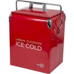 Bo-camp UO Retro Coolbox Greenwich Red