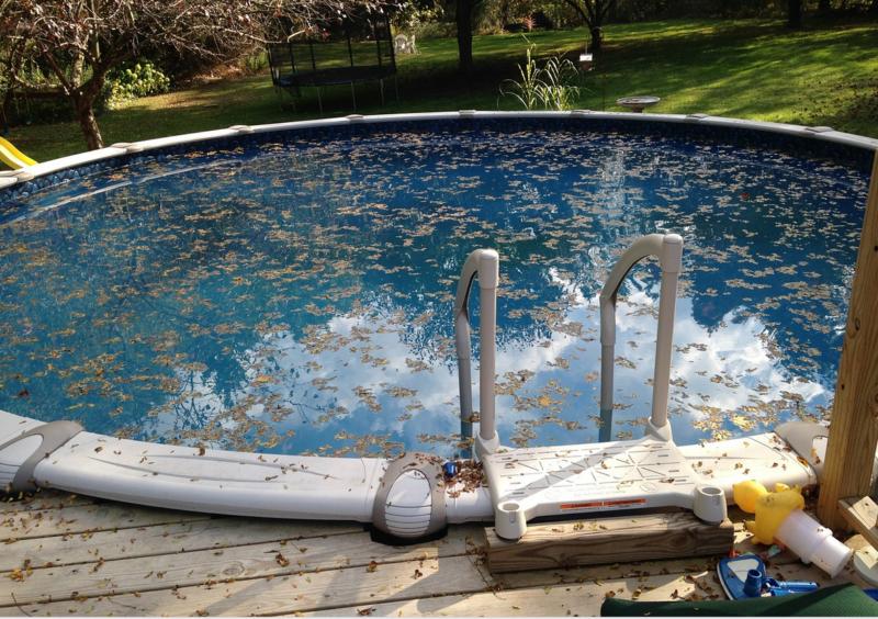 Jak správně zazimovat bazén