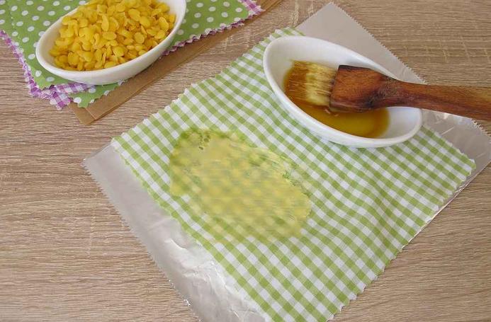 Jak si vyrobit ekologický ubrousek na potraviny