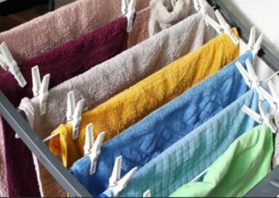 Jak správně sušit prádlo v zimě. Vyhněte se zbytečnému vlhku a plísním