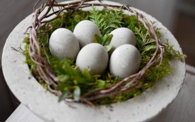 Vyrobte si betonová vajíčka. Víme, jak na to.