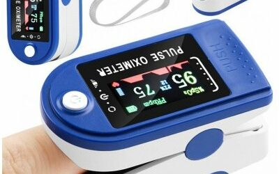 Oxymetr Clontec ISO 13583 Prstový pulzní oxymetr LCD - návod
